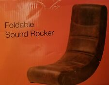 Gaming Chair with sound. Foldable and LEATHER. NIB