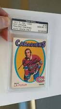 1971-72 O-PEE-CHEE ROOKIE GUY LAFLEUR #148 PSA/DNA AUTO GEM MINT 10 AUTOGRAPH