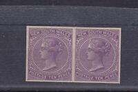 NSW15) New South Wales 1867 Queen Victoria 10d Lilac