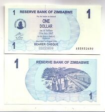 Zimbabwe 1 dollaro 2006      FDS  UNC       pick 37