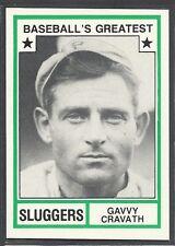 1982 TCMA Baseball's Greatest Sluggers - #31 - Gavvy Cravath - Phillies