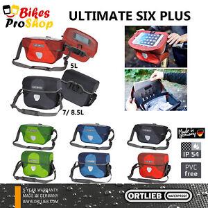 ORTLIEB Ultimate 6 PLUS - Mounting INCLUDED E225 - Bike Bicycle Handlebar Bag