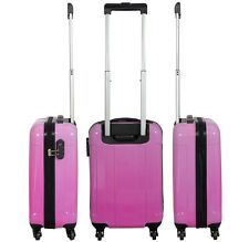 valise trolley cabine - IATA 100 % lignes aériennes  -  rose -  NEUF