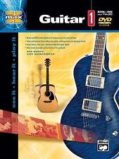 Alfred's MAX Guitar Book and DVD Learn How To Play Guitar