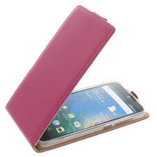 Custodia Per Acer Liquid Z630 Cellulare Modello Flip Protettiva Case Fucsia