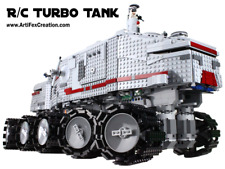 Custom Lego Star Wars RC Turbo Tank UCS 8098 75192 75159 10143 10188 10179 10221