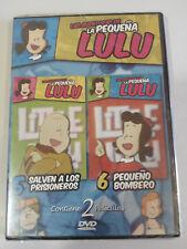 LAS AVENTURAS DE LA PEQUEÑA LULU - 2 PELICULAS DVD NUEVO