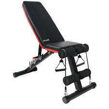 Ativafit Adjustable Weight Bench Home Workout Utility Foldable Flat Bench Press