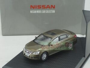 1/43 Scale China model Nissan SYLPHY brown Diecast
