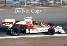 Emerson Fittipaldi McLaren M23 Spanish Grand Prix 1974 Photograph 3
