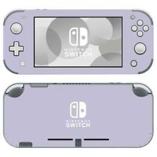 Nintendo Switch Lite Console Vinyl Skin Decal Stickers Pastel Purple Color Cute