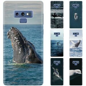 Dessana Whales TPU Protective Cover Phone Case Cover For Samsung Galaxy S Note