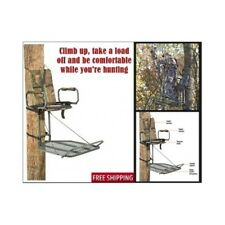 """Deluxe Hunting Hang On Tree Stand Quick Setup 300 lb w/Padded armrests 24"""""""