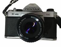 Asahi Pentax K1000 Film Camera Pentax 1:2 50mm Lens SLR