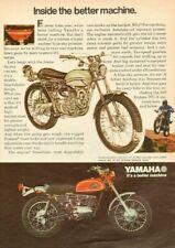 1971 Yamaha 250 Enduro DT1-E Vintage Motorcycle Ad