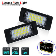 LED License Plate Light Bulbs for BMW (E84 F25 E70 E71) X1 X3 X5 X6 Error Free