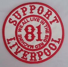HELLS ANGELS SUPPORT 81 LIVERPOOL PATCH