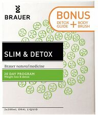 BRAUER Slim & Detox 20 day weight loss detox program