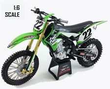 New ray toys kawasaki modèle KXF450 chad reed two two motorsport-échelle 1/6