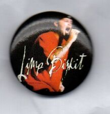 LIMP BIZKIT BUTTON BADGE - AMERICAN NU METAL BAND - CHOCOLATE STARFISH AND THE