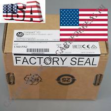 2018/2019 New Allen-Bradley CompactLogix AC Power Supply 1769-PA2 US SHIP FAST