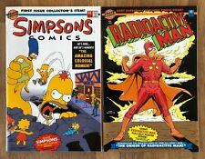 Simpsons #1, Radioactive Man #1 (1993, Bongo) - High Grade NM Unread!