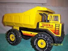 "Tonka Mighty Good Turbo Diesel 1984 Dump Truck Fully Working Pr Steel 17 "" Long"