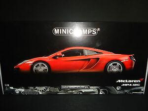Minichamps McLaren MP4-12C 2011 Metallic Orange 1/18 Limited Edition