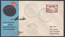 Greenland, 1954. First Flight Sas 9, Cpoenhagen