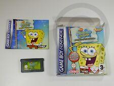 !!! NINTENDO GAMEBOY ADVANCE SPIEL Spongebob Bikini Bottom OVP GUT !!!