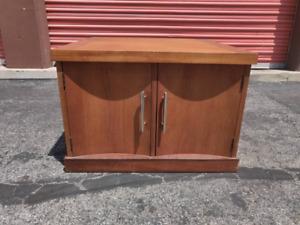 Vintage Mid Century Cabinet or End Table By Kroehler Furniture