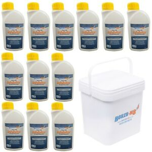 NSF Approved Central Heating System Boiler Inhibitor Concentrate 500ml x 12