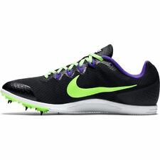 Mens Nike ZOOM RIVAL D Distance Track Running Shoes no Spikes BLACK PURPLE 12.5