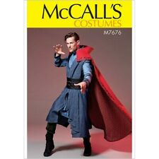 McCalls Sewing Pattern Mens Costume Cape Dr Strange Larp 7676 UNCUT S-XXL