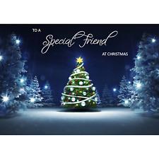 Doodlecards Special Friend Christmas Card - Medium Size