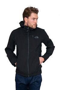 North Face Mens Black Waterproof Lightweight Jacket