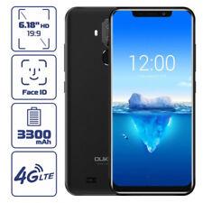 Oukitel C12 Pro NUOVO Android8.1 FACE ID 4G Smartphone TELEFONO 3Cam 2/16GB Nero