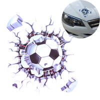 Car styling Window Sticker Auto Decals 3D Car Stickers Football Hits Car neR SP