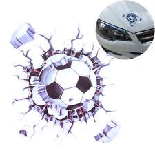 Car Styling Window Sticker Auto Decals 3D Car Stickers Football Hits Car JDUKHC