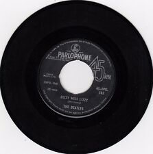 """THE BEATLES DIZZY MISS LIZZY / THE NIGHT BEFORE RARE 1965 RECORD INDIA 7"""""""