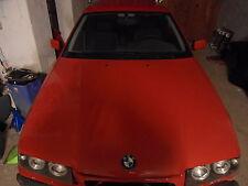 BMW e36 Motorhaube Touring/ Limosiene hell- rot 3er