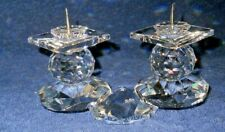 Swarovski Crystal Candle Holder #108 European Pin Style