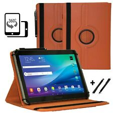"""Tablet 10.1"""" Hülle Tasche für Samsung Galaxy Tab 2 P5110 Schutzhülle Orange 360"""