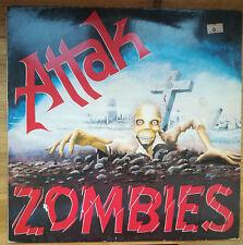 Attak – Zombies LP 1983 1° stampa Holland Roadrunner VG+/NM OI