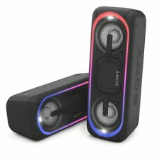 Sony EXTRA BASS SRS-XB40 Portable Bluetooth Wireless Speaker Black Waterproof