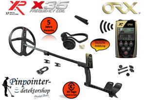 XP ORX 28 WSA Metalldetektor X35 Spule Detektor Sonde OVP Schatzsuche Leitwert