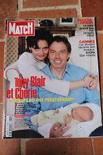 paris match 2662 du 1 juin 2000 luc besson bjork tony blair attali grisham