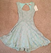 Topshop Lace Green Dresses for Women