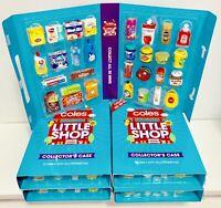 COLES LITTLE SHOP SERIES 1 - FULL SET + FOLDER (Send With BOX Plus INSURANCE)
