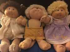 cabbage patch dolls 1980s signed  (3)